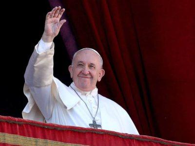 Papa Francisco rezó junto a los creyentes de otras religiones