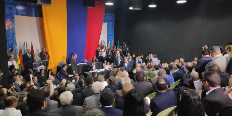 Sesión extramuros de la Asamblea Nacional