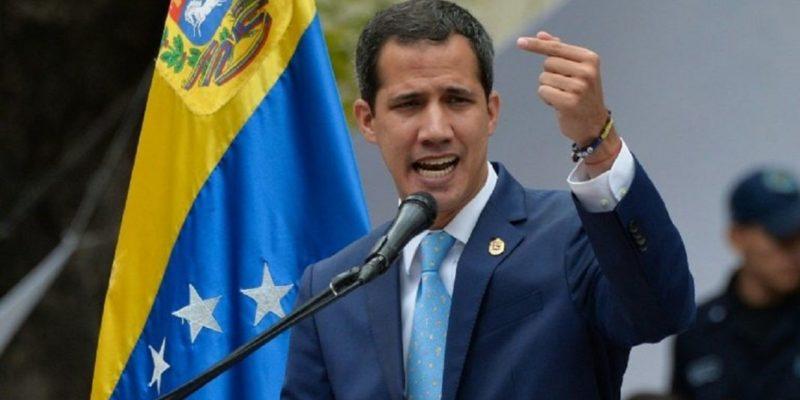 Juan Guaidó, presidente de la AN