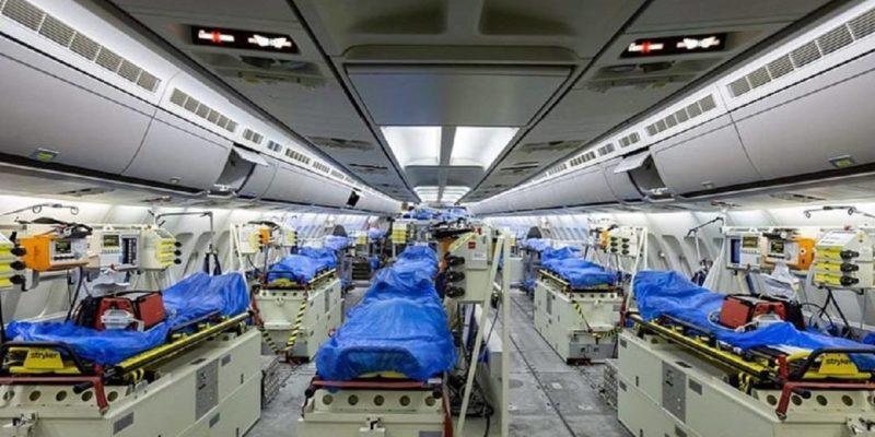 Afectados con el coronavirus serán movilizados a hospitales del país europeo para ser atendidos