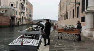 Italia es el país con el mayor número de fallecidos, hasta la fecha