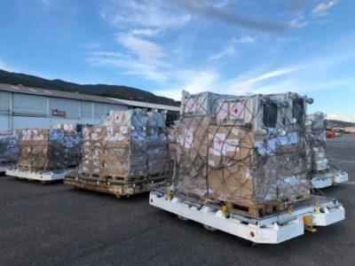 Anuncian la llegada de suministros médicos a Venezuela