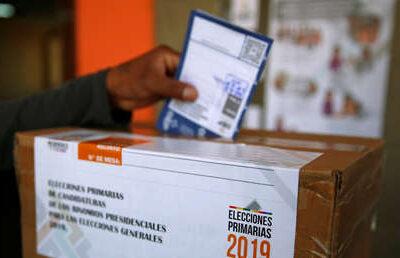 Elecciones en Bolivia elevan la tensión en plena pandemia. Foto referencial