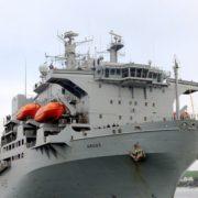 """Reino Unidoenvió barco """"polivalente"""" al Caribe"""