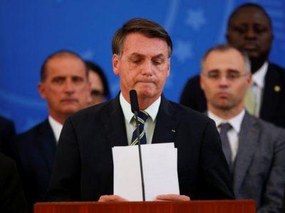 Investigarán al presidente Jair Bolsonaro