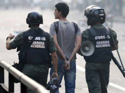 Foro Penal denunció 70 Detenciones por Motivos Políticos durante la Cuarentena