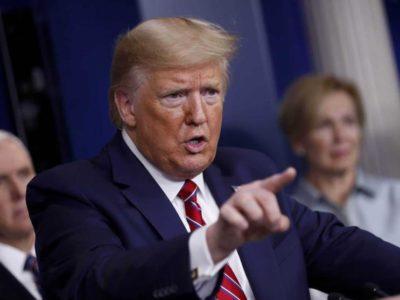 Trump a China: Pudo detenerse la pandemia, ahora el mundo está sufriendo