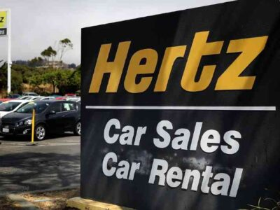 Compañía Hertz se declaró en bancarrota