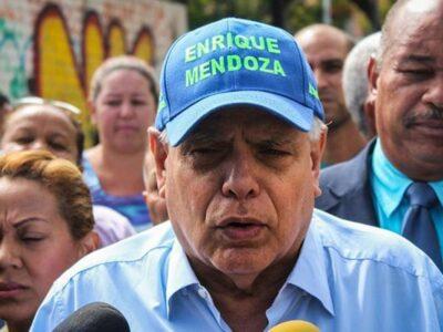Mendoza pidió a la oposición mantenerse unida