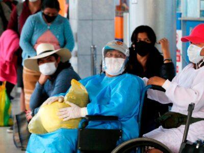 En la actualidad en ese país hay 7.509 pacientes hospitalizados con coronavirus, de los cuales 866 están en cuidados intensivos con ventilación mecánica