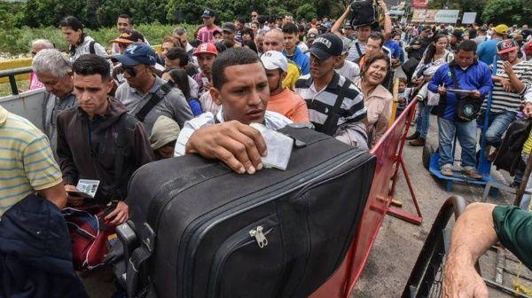 Acnur denunció la precaria situación de los migrantes venezolanos