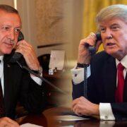 Trump y Erdogan hablan por teléfono de Libia y Siria