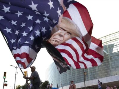 Seis trabajadores del acto de Trump en Tulsa dan positivo por coronavirus