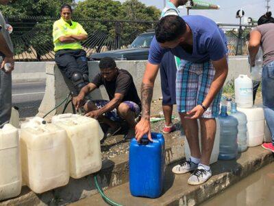 Escasez de agua potable puede extender el covid-19 en el país