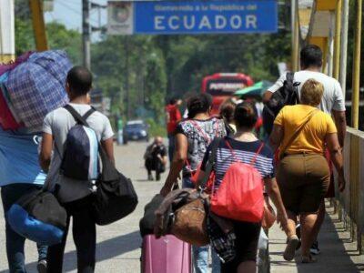 Ecuador pasó de emisor a receptor de migrantes, en su mayoría venezolanos