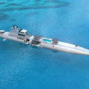 Construyen en Austria un exclusivo buque-submarino