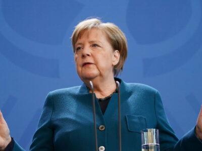 Merkel pidió usar la aplicación contra el coronavirus