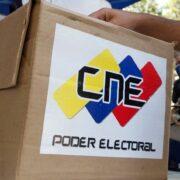 CNE convocó las elecciones para el 6 de diciembre