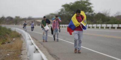 41,1% de los migrantes venezolanos se quedó sin empleo por la pandemia