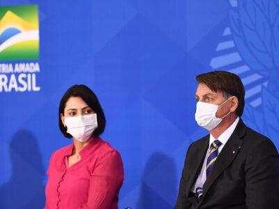 Esposa de Bolsonaro dio positivo a coronavirus