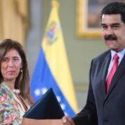 Gobierno de Maduro decidió no expulsar a la embajadora de la UE en Caracas