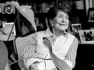 Falleció a los 99 años la dama del olimpismo Flor Isava
