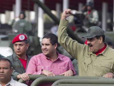 """EE.UU. sanciona a dos """"socios de confianza"""" de Maduro y su hijo"""