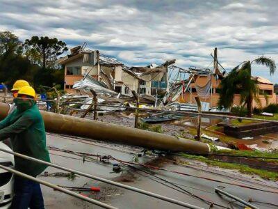 Bomba ciclónica provocó 10 muertes en Brasil