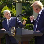 Trump y López Obrador se reunieron en la Casa Blanca