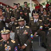 Maduro renovó parte de la cúpula militar