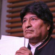 Fiscalía boliviana pidió la detención del expresidente Evo Morales