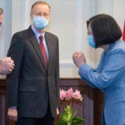Autoridades de EE.UU. se reunieron con líderes taiwaneses