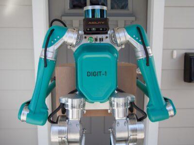 Ford creó su primer robot repartidor