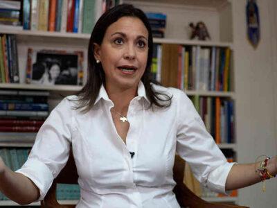 María Corina Machado se distancia del plan de unidad propuesto por Juan Guaidó