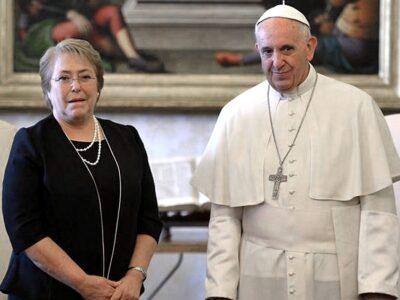 Bachelet habló con el papa Francisco sobre Venezuela