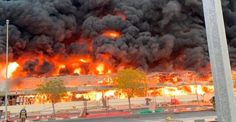 Los cuerpos de rescate acudieron al sitio del siniestro para sofocar el fuego que consumió el lugar y asistir a posibles víctimas