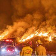 Alrededor de 11.000 descargas eléctricas o rayos han provocado más de 370 incendios esta semana