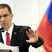 """Jorge Arreaza denunció que países buscan """"sabotear las elecciones parlamentarias"""""""