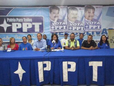TSJ intervino el partido izquierdista PPT