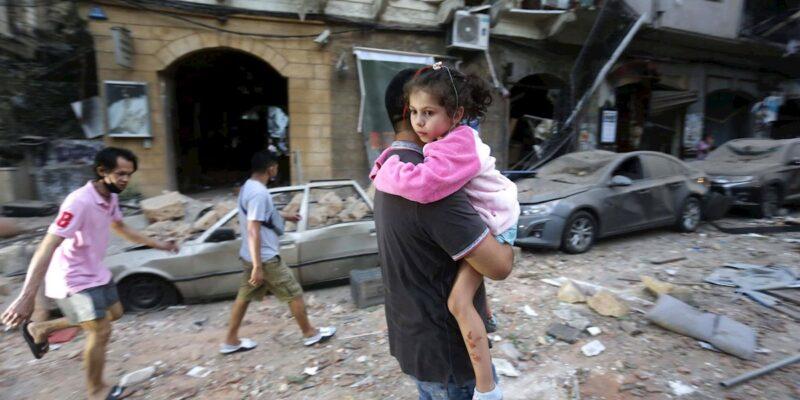 """World Vision y Plan International expresaron su preocupación debido a la """"grave crisis social, económica y política"""" que ya se vivía en el Libano"""