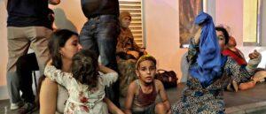 El suceso dejó, hasta el momento, más de cien muertos y 4.000 heridos