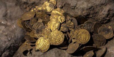 Hallan en Israel un tesoro de oro puro