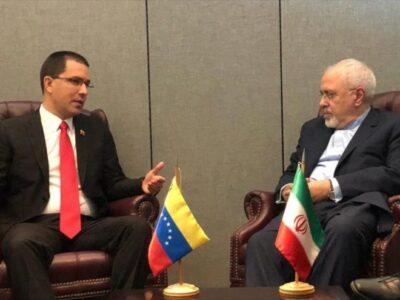 Arreaza discutió con el canciller iraní las sanciones de EE.UU.