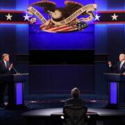 El presidente estadounidense realizó muchas interrupciones y advirtió de un posible fraude electoral. Hubo dimes y diretes entre los competidores, pero con acritud