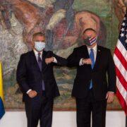 """Pompeo agradeció a Duque el apoyo para una Venezuela """"sin influencia maligna"""""""