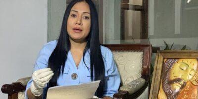 Gobernadora Laidy Gómez y su hija fueron diagnosticadas con COVID-19