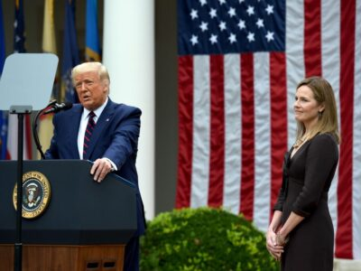 Trump confirmó nominación de Amy Coney Barrett para el Supremo