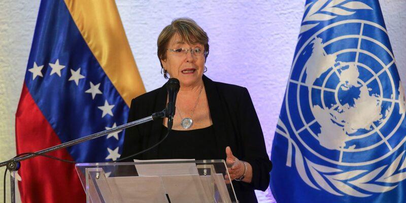 Bachelet presentó informe actualizado sobre Venezuela