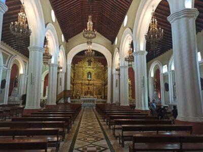 El Santuario de Nuestra Señora de la Candelaria cuenta con el diezmo electrónico gracias al apoyo tecnológico de la institución financiera