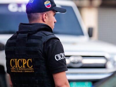 El CICPC es uno de los organismo que está en el lugar de los hechos para determinar lo ocurrido